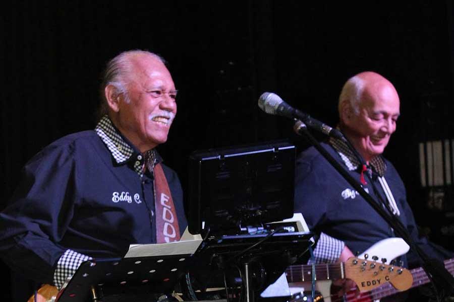 Big Ron en Eddy C